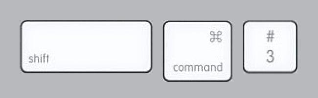 Mac ekran görüntüsü alma