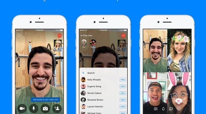 Facebook Messenger grup görüşme güncelleştirildi!