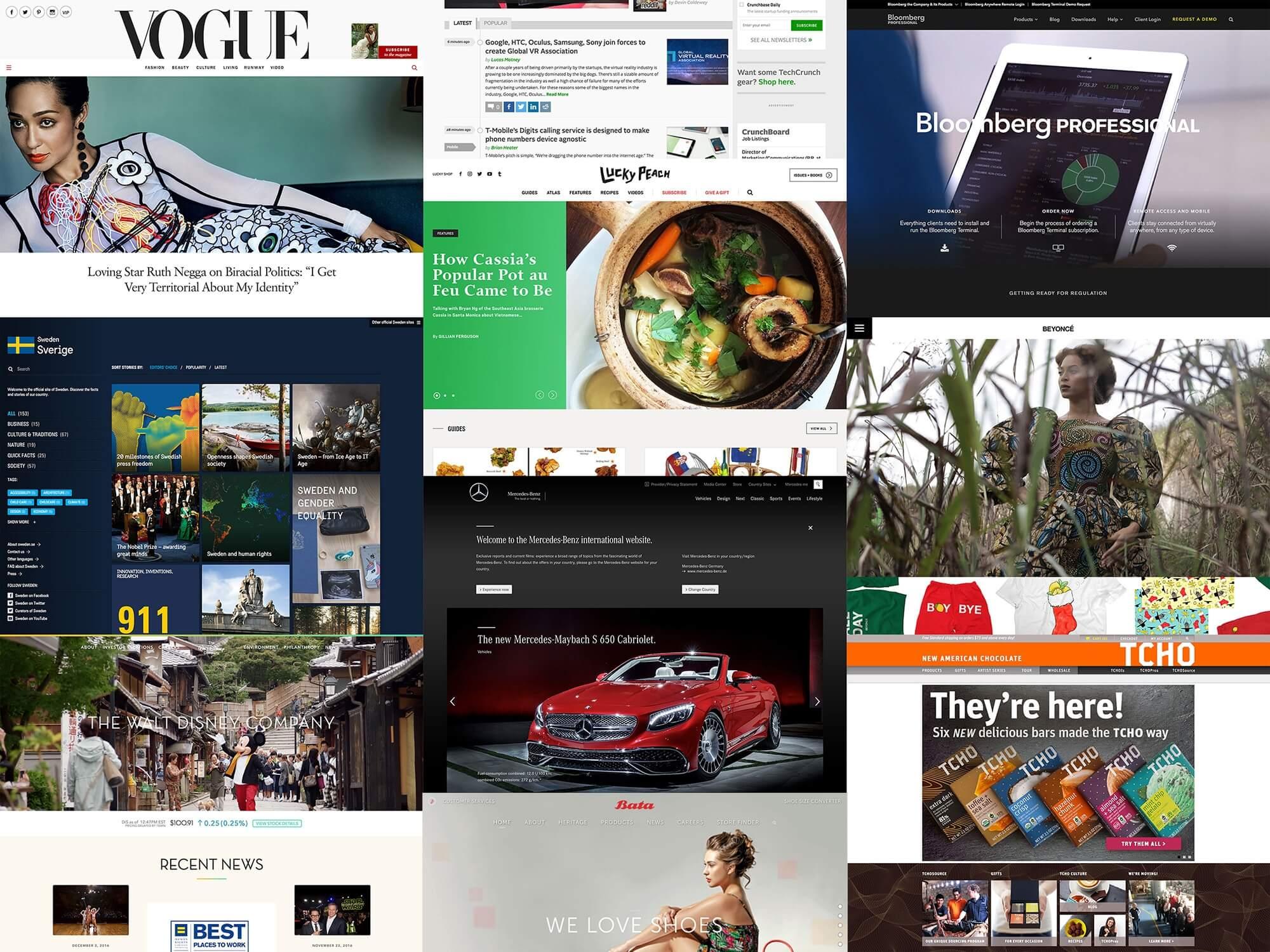 WordPress kullanan ünlü siteler